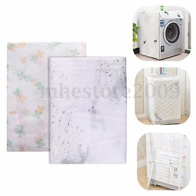 Waterproof Washing Machine Dryer Zippered Dust Cover Protection Top  Front Cover