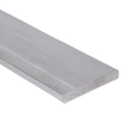 "1/2"" x 3"" Aluminum Flat Bar, 6061 Plate, 6"" Length, T6511 Mill Stock, 0.5"""