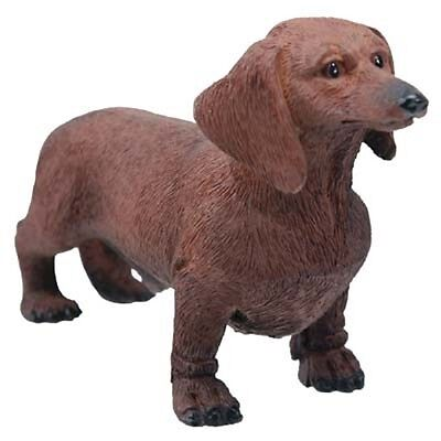 """Chocolate Dachshund Figurine 3.75"""" - New - World Of Dogs Collection - Free Ship"""
