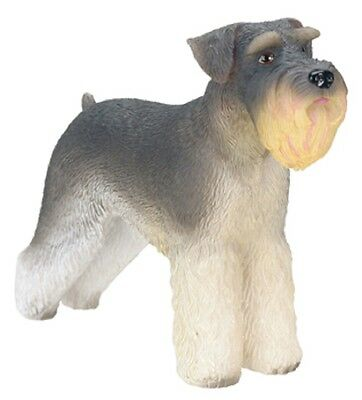 """Schnauzer Figurine 3.5"""" - New In Box - World Of Dogs Collection - Free Shipping"""