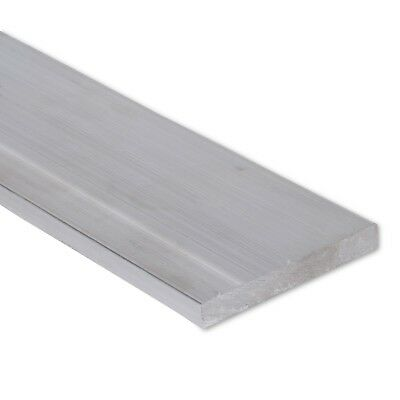 "1/2"" x 4"" Aluminum Flat Bar, 6061 Plate, 12"" Length, T6511 Mill Stock, 0.5"""