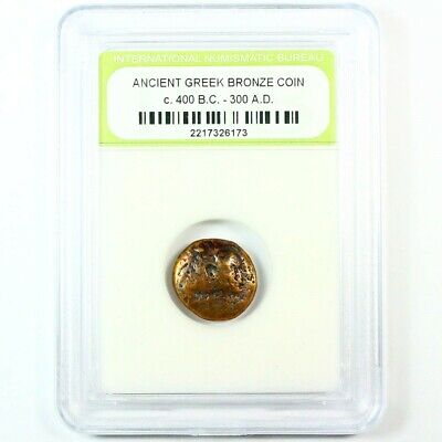 Blowout! Slabbed Ancient Greek Coins. c.400 B.C. - 300 A.D. FREE SHIPPING