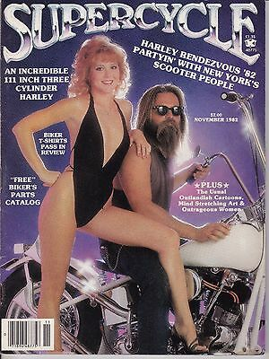 Supercycle Motorcycle Magazine NOVEMBER 1982 NOV