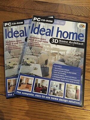 Ideal Home 3D Home Architect Professional 5 (Pc Cd-Rom)