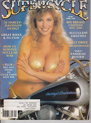 Supercycle Motorcycle Magazine APRIL 1984 APR
