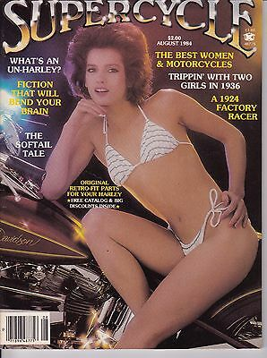 Supercycle Motorcycle Magazine AUGUST 1984 AUG