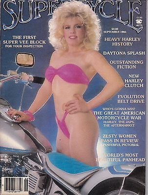 Supercycle Motorcycle Magazine SEPTEMBER 1985 SEPT