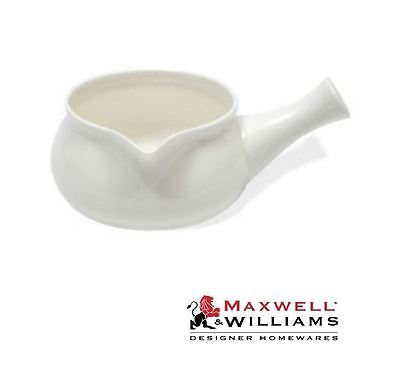 Maxwell and Williams Blanco Basics Cerámica Salsa Vertedor Maceta Jarra