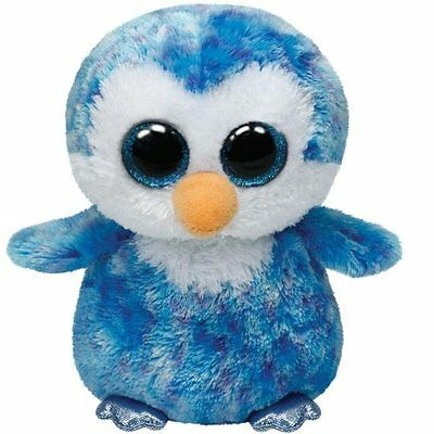 Ice Cube The Penguin   Ty Beanie Boos  Brand New 15Cm