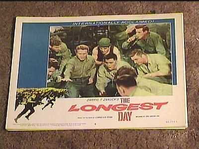 Longest Day 1962 Lobby Card #8 Military Classic