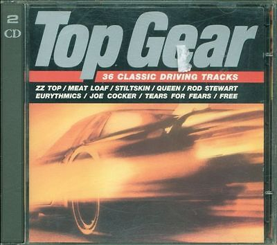 Top Gear - Zz Top/Queen/Tears For Fears/Santana/Lou Reed/Robert Plant 2X Cd Vg