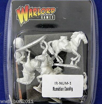 Warlord Games IR-NUM-1: 28mm Numidian Cavalry (3 Horses 3 Riders)