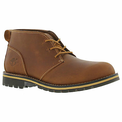 Timberland Grantly Chukka Mens Brown Leather Ankle Boots UK 9