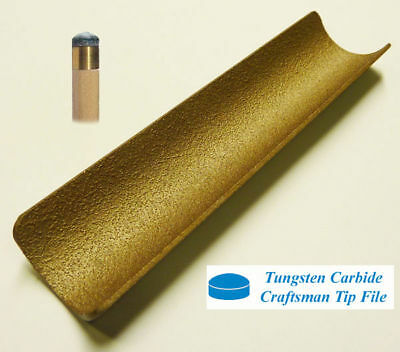 Tungsten Carbide Tip File For Snooker / Pool Cues