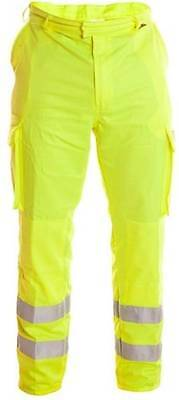 """New Flame Retardant Welding High Visibility Welder Work Trousers Pants 34"""""""