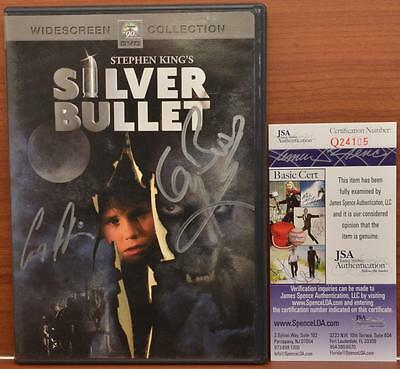 Silver Bullet DVD Autographed Signed Corey Haim Gary Busey JSA COA