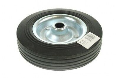 MAYPOLE Trailer Spare Jockey Steel Wheel with Solid Rubber Tyre - 200mm MP228