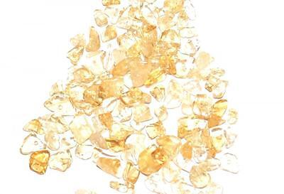 20g GENUINE GEMSTONE CHIP CHIPSTONE CHIPS JEWELLERY CRAFT BEADS - CITRINE