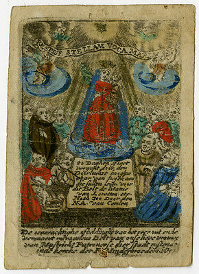 Devotional Antique Print-RELIGION-MARY-MAASTRICHT-Anonymous-ca. 1770