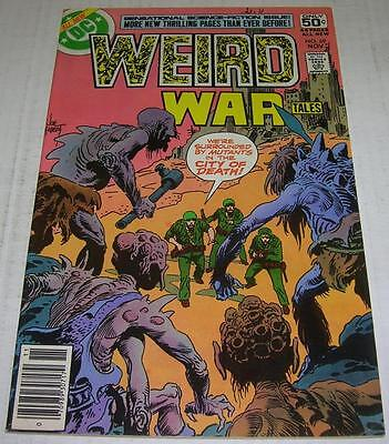 WEIRD WAR TALES #69 (DC Comics 1978) Joe Kubert cover (FN/VF) RARE