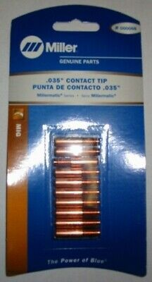 """MILLER Genuine 000068 CONTACT TIPS .035"""" - QTY 10"""
