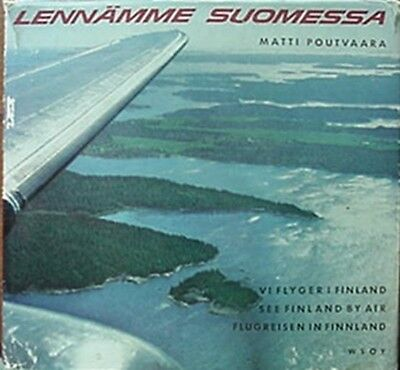 Finland Seen By Air, 1959 Book (Many Photos