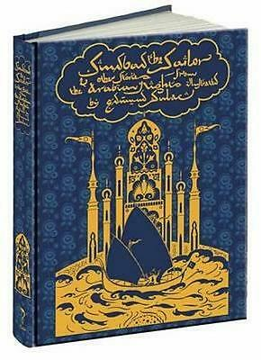 Sindbad The Sailor & Other Stories From Arabian Nights ~ Illus Dulac ~ Gift Ed