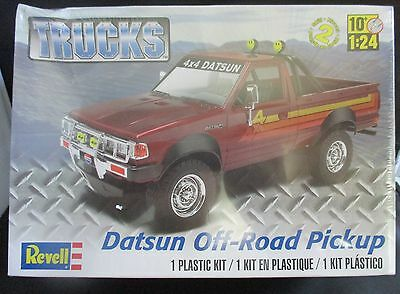 Revell 1/24 Datsun Off-Road Pickup Truck Kit- Special Price