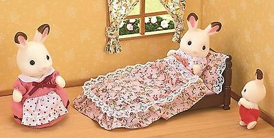 Sylvanian Families Classic Antique Bed Perfect Accessory For The Sylvanian Home