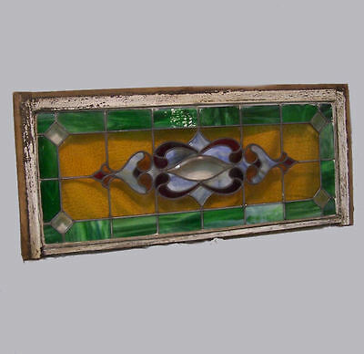 Antique Leaded Stained Glass Window – Over the Bay Style