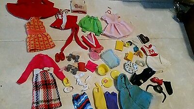 Vintage Francie  Barbies friend -clothes & misc other doll access