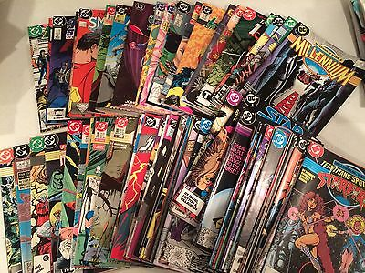 Lot of 65 DC comics from the 1980's for 19.99 + shipping