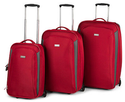 Antler 3Pc Duolite 2W Rollercase - Red