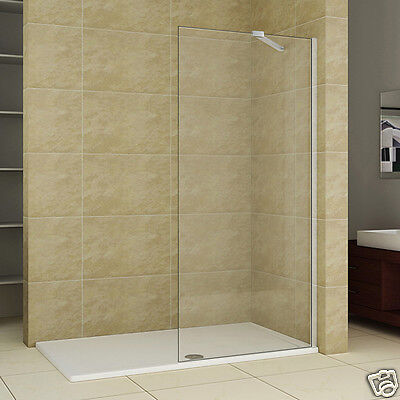 Luxury Walk in Wet Room Shower Enclosure Screen Panel Stone Tray Tall Cubicle