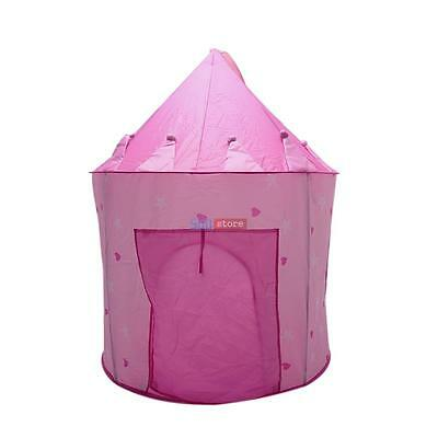 Pink Princess Castle Play Tent Children Play Tent for Girl