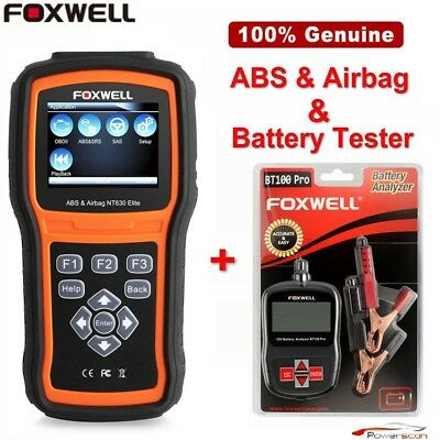 Foxwell NT630 Pro Auto ABS SAS Airbag Reset Tool OBD2 Car Diagnostic Scanner