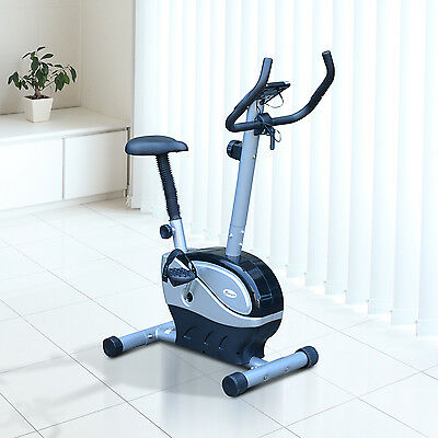 Soozier Magnetic Exercise Bike Cycling Trainer Health Fitness Gym Machine