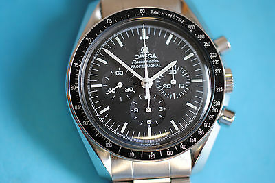 Omega Speedmaster  moon watch First watch on the moon mit Stahlband