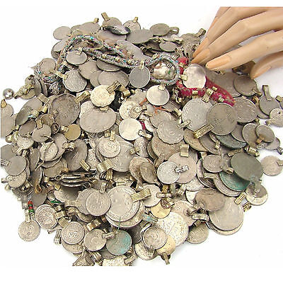 1300 real COINS Belly Dance Bellydance Tribal Kuchi MIXED