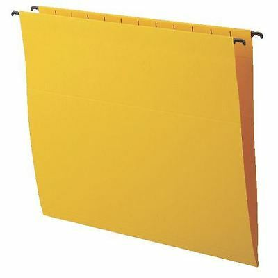 niceday A4 Flex Suspension Files V Base 220gsm Yellow - Pack of 25