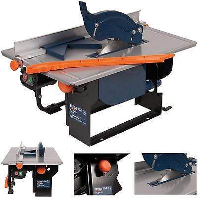 Ferm 800w Table Saw with Mitre Function 240V