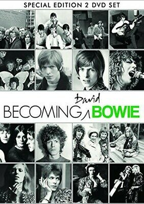 Becoming Bowie - 2 DISC SET (2014, REGION 1 DVD New)