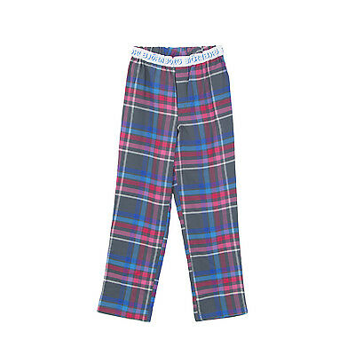 BJORN BORG Boy's Sleepwear Grey/ Multi Check Pajama Pants Size 122-128 6-8 Y NEW