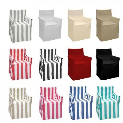 12 Color Choice - Alfresco 100% Cotton Director Chair Cover RRP 49.95