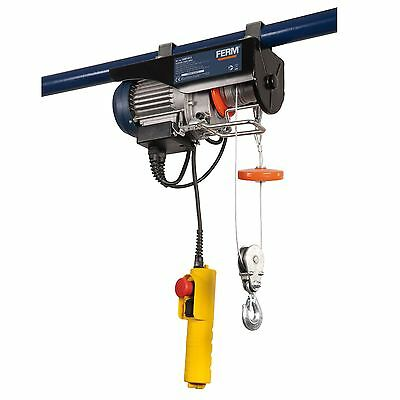 Ferm Electric Lever Hoist Scaffold Garage Workshop Pulley 12m 250kg