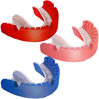 OPRO Gold Ortho Orthodontics Hockey Boxing Rugby MMA Mouth Guard Gum Shield