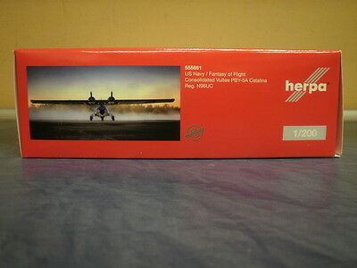 Herpa Wings 1:200 PBY-5A Catalina Fantasy of Flight 555661