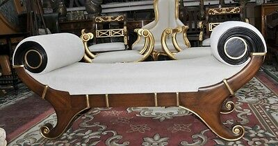 French Empire Stool Chaise Longue Seat Day Bed • £1,495.00