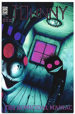 JOHNNY THE HOMICIDAL MANIAC #3 VF/NM, 1st Print, Jhonen Vasquez, SLG Comics 1996