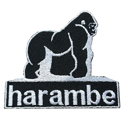 Harambe Gorilla Iron On Patch